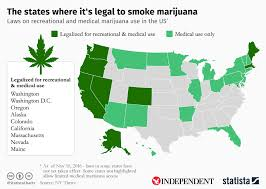 where is marijuana legal in the states