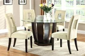 glass dining room sets round glass dining room table round glass dining table design ideas round
