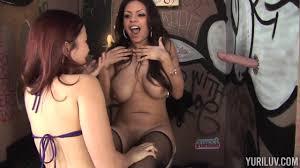 Curvy lesbians Jacky Joy and Dayna Vendetta Shameless