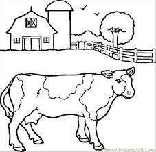 Small Picture Cow2 Coloring Page Free Cow Coloring Pages ColoringPages101com