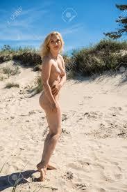 Hot Naked Blondes Sunbathing Nude