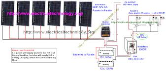 12 volt battery parallel wiring diagram wiring diagram solar panel installation step by step procedure