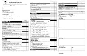 Report Card Template First Grade Report Card Template Common Core 24st Grade Pinterest 22