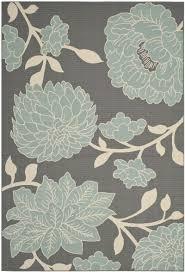 creative design grey and blue area rug 28