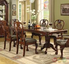 brussels traditional formal dining room set 9 piece w china cabinet ebay