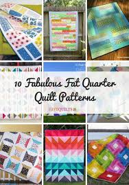 10 Fabulous Fat Quarter Quilt Patterns | FaveQuilts.com & 10 Fabulous Fat Quarter Quilt Patterns Adamdwight.com