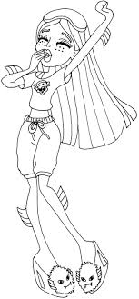 Small Picture 92 best monster high coloring images on Pinterest Monster high