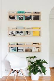 Homemade Magazine Holder Stunning House Tour Simple Clean ScandinavianInspired Style Storage