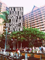 Aulani Luau Seating Chart Ka Waa Luau Review At Aulani A Disney Resort And Spa