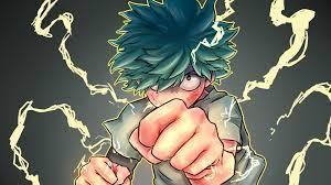 Izuku Midoriya from My Hero Academia ...