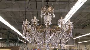 made in clinton county swarovski schonbek crystal chandeliers you