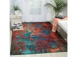 nourison celestial atlantic rectangular area rug