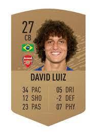 "Goffeng - FUT Trader on Twitter: ""DAVID LUIZ FIFA 21 PREDICTION… """
