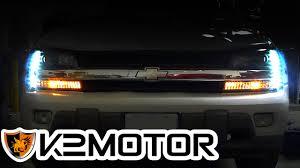 K2MOTOR INSTALLATION VIDEO: 2002-2009 CHEVY TRAILBLAZER PROJECTOR ...