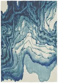 watercolor area rug. Watercolor Collection Power Loomed Polypropylene Area Rug In Atlantic Design By BD Fine R