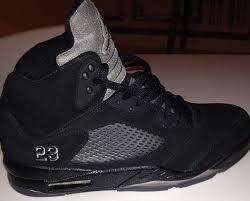jordan 5 black. air jordan v retro- black \u0026 grey 5