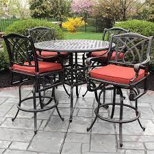 bar height patio furniture patio bar set