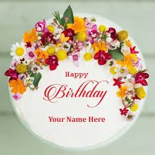 99 Birthday Wishes With Name Editor Black Forest Birthday Cake