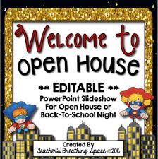 Open House Powerpoint Super Hero Open House Powerpoint Editable Super Hero Presentation