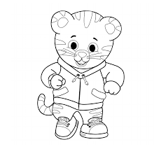 These fun and educational free unicorn coloring pages to print will allow children to travel to a fantasy land full of wonders, while learning about this magical creature. Art Daniel Tiger Pbs Kids