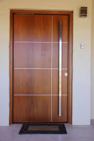 Main door. Us