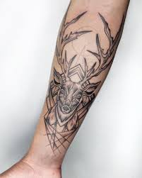 Deer For My Stylish Tattoo Mate Alfio Tattoo Tattoos Stylish