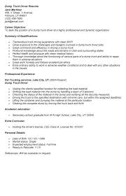 Gallery Of Truck Driver Resume Samples Tips And Templates Truck