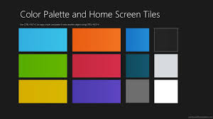 Windows 10 Color Scheme Windows 8 All In One Bundle Pro Windows 10 Templates Modern Ui