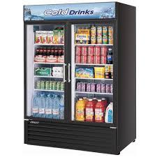 Glass Refrigerator Air Tgm 50rsb Black 56 Two Glass Door Refrigerator 50 Cu Ft