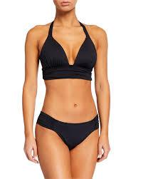 Side Shirred Hipster Bikini Bottom