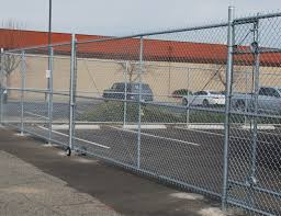 Metal chain fence gate Adjustable Single Arizona Fence Builders Used High Quality Gauged Metal So You Get Secure Chain Link Fence That Will Last For Many Years Without Much Maintenance Arizona Fence Builders Chain Link Arizona Fence Builders