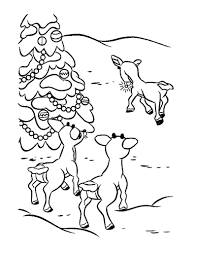 Small Picture Rudolphs friends coloring pages Hellokidscom