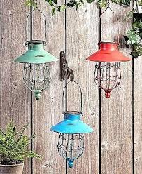 solar hanging lantern garden outdoor led lamp light yard outdoor decor landscape
