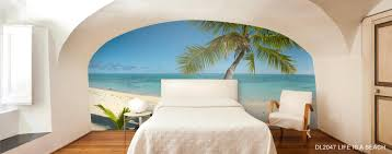 Ocean Wallpaper For Bedroom Beach And Tropical Murals Beach Scene Wallpaper