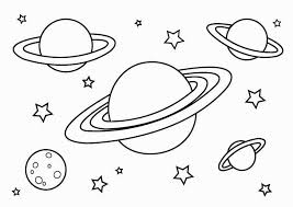 Small Picture Free Printable Planet Coloring Pages For Kids