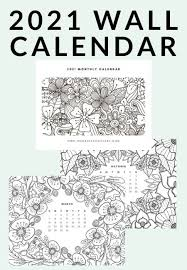 We have collected 40+ free printable coloring page for adults pdf images of various designs for you to color. Free Printable 2021 Adult Coloring Calendar The Crazy Craft Lady