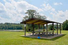 What is a pavilion Park Four Picnic Tables Grill Volleyball Posts Spectacular View Of Beaver Lake Near Horse Stables Plenty Of Open Space Near Portapotty Shelby Farms Park Picnic Pavilions Memphis Tn Shelby Farms Park