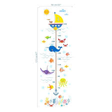 growth chart wall art 2 elegant nursery height sticker kids boys girls decal australia grow growth chart wall