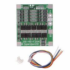 4S 30A 12.8V w/Balance 3.2V LiFePo4 LiFe 18650 Battery <b>BMS</b> ...
