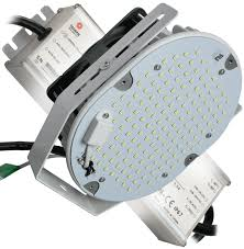 led retrofit kit roadway high bay flood dimmable dlc listed