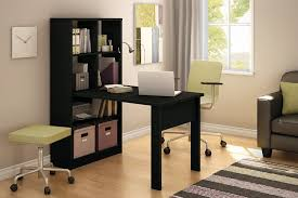 com south s annexe collection work table and storage unit combo pure black kitchen dining
