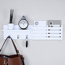 Coat Key Rack Amazon Ballucci Mail Holder and Coat Key Rack Wall Shelf with 100 74