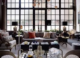 ... Frosted Glass Windows Add Inimitable Style To The Large Living Room  [By: Jeffers Design