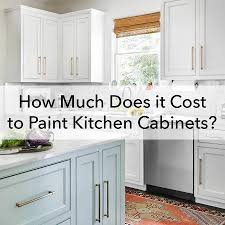 Visit our showrooms in orange county and san diego county to explore our gallery of kitchen cabinet refacing, countertop styles, and more! How Much Does It Cost To Paint Kitchen Cabinets Paper Moon Painting