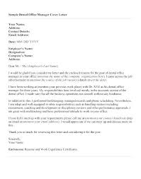 Cover Letter For Office Administrator Cover Letters For Office Jobs