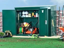 lawn mower shed plans riding tractor push storage ideas mowers how to small lawn mower shed
