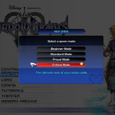 Kingdom Hearts 3 Critical Mode Explained Changes