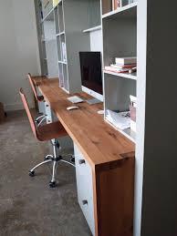 Counter Top Desks Reclaimed White Oak Wood Countertop Photo Gallery By Devos Custom
