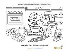 Small Picture Whats Different in the Kitchen Worksheets Kindergarten and
