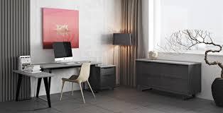 contemporary office desks. Urbano Gray Concrete Modern Office Desk Contemporary Desks